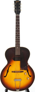 Musical Instruments:Electric Guitars, 1965 Gibson ES-125 Sunburst Semi-Hollow Body Electric Guitar,#267907....