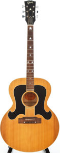 Musical Instruments:Acoustic Guitars, Circa: 1993 Gibson Everly Brothers Natural Acoustic Guitar, #912130....