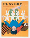 Magazines:Vintage, Playboy V2#4 (HMH Publishing, 1955) Condition: VG/FN....