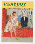 Magazines:Vintage, Playboy V2#6 (HMH Publishing, 1955) Condition: GD/VG....