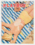 Magazines:Vintage, Playboy V2#7 (HMH Publishing, 1955) Condition: VG/FN....