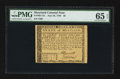 Colonial Notes:Maryland, Maryland June 28, 1780 $8 PMG Gem Uncirculated 65 EPQ.. ...