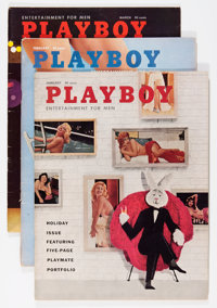 Playboy 1958 Group (HMH Publishing, 1958).... (Total: 14 Items)