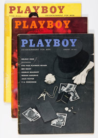 Playboy 1959 Group (HMH Publishing, 1959). Condition: Average VG... (Total: 13 Items)