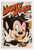 Golden Age (1938-1955):Cartoon Character, Mighty Mouse #4 (Timely, 1947) Condition: FN+....
