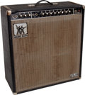 Musical Instruments:Amplifiers, PA, & Effects, 1977 Music Man 410-HD One Thirty Black Guitar Amplifier, Serial # B005776 ...