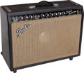 Musical Instruments:Amplifiers, PA, & Effects, 1966 Fender Deluxe Reverb Guitar Amplifier, Serial # 14424...