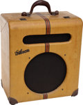 Musical Instruments:Amplifiers, PA, & Effects, Circa: 1941 Gibson EH-185 Tweed Guitar Amplifier, Serial # 13923...