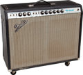 Musical Instruments:Amplifiers, PA, & Effects, 1973 Fender Pro Reverb Black Guitar Amplifier, Serial # A15704...