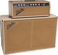 Musical Instruments:Amplifiers, PA, & Effects, 1963 Fender Bassman Blonde Guitar Amplifier, Serial # BP07908...