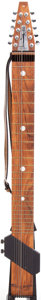 Musical Instruments:Electric Guitars, Post-1975 Chapman The Stick Natural Solid Body Electric Guitar,#479....