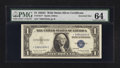 Error Notes:Miscellaneous Errors, Fr. 1617* $1 1935G With Motto Silver Certificate. PMG Choice Uncirculated 64.. ...
