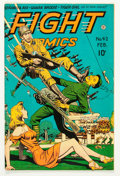 Golden Age (1938-1955):War, Fight Comics #42 (Fiction House, 1946) Condition: FN+....