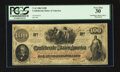 Confederate Notes:1862 Issues, T41 $100 1862 PF-14 Cr. 323A.. ...