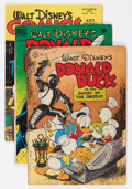 Golden Age (1938-1955):Cartoon Character, Donald Duck Related Group (Dell, 1947-52).... (Total: 8 Comic Books)