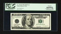 Error Notes:Missing Magnetic Ink, Fr. 2175-B $100 1996 Federal Reserve Note. PCGS Gem New 66PPQ.. ...