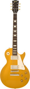 Musical Instruments:Electric Guitars, 2003 Gibson Les Paul 1957 Re-Issue Gold Top Solid Body ElectricGuitar, #7 3627. ...