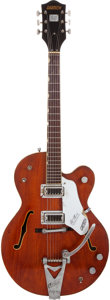Musical Instruments:Electric Guitars, 1967 Gretsch Tennessean Burgundy Semi-Hollow Body Electric Guitar, #27237....