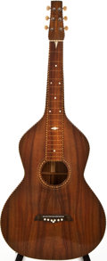 Musical Instruments:Lap Steel Guitars, 1930s Weissenborn Style 3 Natural Hawaiian Steel Guitar, #N/A....