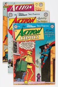 Action Comics Group (DC, 1952-66).... (Total: 9 Comic Books)
