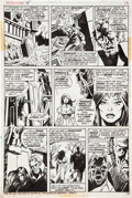 Original Comic Art:Panel Pages, Mike Ploog Werewolf by Night #15 page 16 Original Art (Marvel, 1974)....