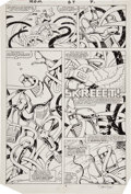 Original Comic Art:Panel Pages, Steve Ditko and P. Craig Russell Rom #64 Page 4 Original Art (Marvel, 1985)....