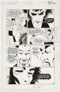 Kelley Jones and George Pratt Sandman #26 Page 18 Original Art (DC, 1991)