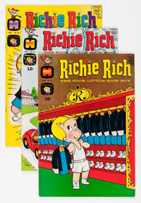 Richie Rich File Copy Group (Harvey, 1967-75) Condition: Average VF/NM.... (Total: 66 Comic Books)