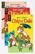 Silver Age (1956-1969):Cartoon Character, Chip 'n' Dale File Copy Group (Gold Key, 1963-80) Condition: Average VF+.... (Total: 52 Comic Books)