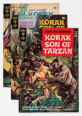 Silver Age (1956-1969):Adventure, Korak, Son of Tarzan #1, 44, and 45 File Copy Group (Gold Key, 1964-71) Condition: Average VF/NM.... (Total: 3 Comic Books)