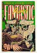 Golden Age (1938-1955):Horror, Fantastic Fears #5 (Farrell, 1954) Condition: FR/GD....