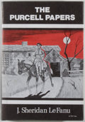 Books:Horror & Supernatural, [Jerry Weist]. J. Sheridan Le Fanu. The Purcell Papers. Sauk City: Arkham House, 1975. First edition, first prin...