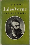Books:Biography & Memoir, [Jerry Weist]. I. O. Evans. TLS TO SAM MOSKOWITZ LAID IN. JulesVerne and His Work. London: Arco, 1965. First ed...
