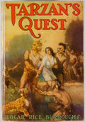 Books:Science Fiction & Fantasy, [Jerry Weist]. Edgar Rice Burroughs. Tarzan's Quest. New York: Grosset & Dunlap, [1938]. Later edition. Octavo. 318 ...