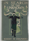 Books:Science Fiction & Fantasy, [Jerry Weist]. Robert W. Chambers. In Search of the Unknown. New York: Harper & Brothers, 1904. First edition, first...