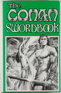 Books:Science Fiction & Fantasy, [Jerry Weist]. L. Sprague de Camp and George H. Scithers [editors]. The Conan Swordbook. Baltimore: Mirage Press, 19...