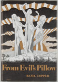 Books:Horror & Supernatural, [Jerry Weist]. Basil Copper. From Evil's Pillow. Sauk City:Arkham House, 1973. First edition, first printing. Octav...