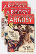 Pulps:Adventure, Argosy-All Story Weekly Group (Munsey, 1931-32) Condition: Average VG/FN.... (Total: 7 Comic Books)