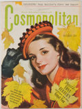 Books:Periodicals, Group of Six Cosmopolitan Magazines. New York: Hearst Magazines,1944-1945. Six quarto volumes. Publisher's wrappers with oc...