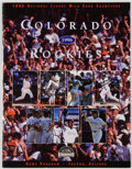 Books:Sporting Books, Colorado Rockies Spring Training Program 1996. SIGNED. Tucson:Southern Arizona Sports Development, 1996. First edition....