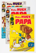 Golden Age (1938-1955):Cartoon Character, Baby Huey and Papa #2-33 File Copy Group (Harvey, 1962-68)Condition: Average VF/NM.... (Total: 41 Comic Books)