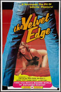 "The Velvet Edge & Other Lot (Unknown, 1976). One Sheets (2) (25"" X 38"" & 23.25"" X 33""). Adul..."