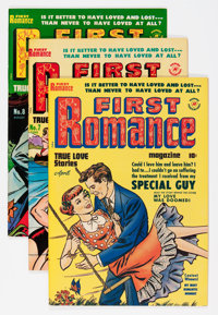First Romance #5 and 7-52 File Copy Group (Harvey, 1950-58) Condition: Average VF.... (Total: 47 Comic Books)