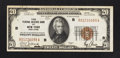 Small Size:Federal Reserve Bank Notes, Fr. 1870-B $20 1929 Federal Reserve Bank Note. Extremely Fine-About Uncirculated.. ...