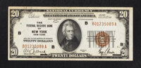 Fr. 1870-B $20 1929 Federal Reserve Bank Note. Extremely Fine-About Uncirculated