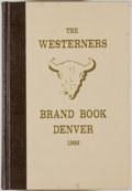 Books:Americana & American History, William D. Powell. The Westerners Brand Book. Volume XXII.Denver: [Denver Westerners], 1966. First edition, limit...