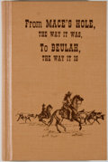 Books:Americana & American History, Beulah Historical Society. From Mace's Hole, the Way It Was, ToBeulah, the Way It Is: A Comprehensive History of Beulah...