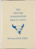 Books:Americana & American History, Alan J. Stewart [editor]. The Denver Westerners Brand Book.Volume XXX. Denver: Westerners, [1977]. Posse editio...