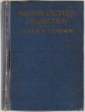 Books:Science & Technology, James R. Cameron. Motion Picture Projection and Sound Pictures. Woodmont: Cameron Publishing, [1942]. Eighth edi...