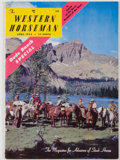 Books:Periodicals, Group of Three Western Horseman Magazines, including: Volume XVII,Number 2, 4, and 6.. Colorado Springs: Western Horseman, ...